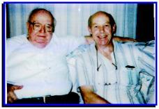 Wayne Martin and Barry Groves in 1998