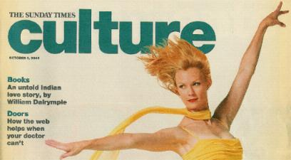 Front cover of Culture 6 October 2002